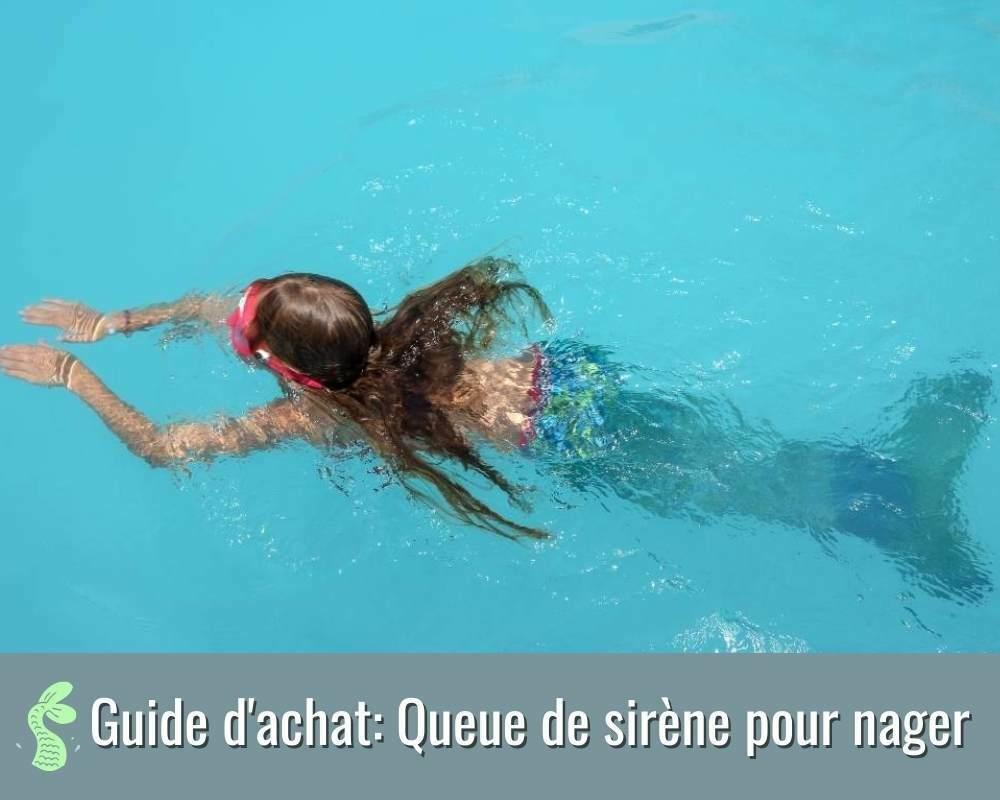guide d'achat des queue de sirène pour nager