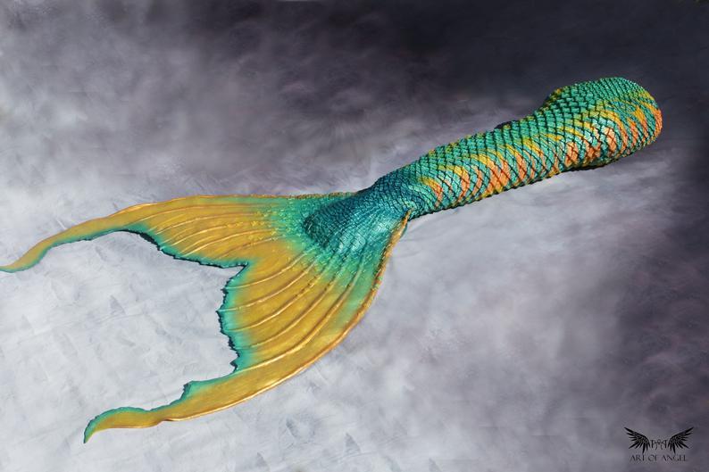 artofangel queue de sirène de créateur