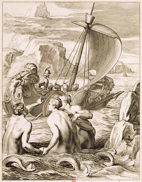 sirene de la mythologie grecque