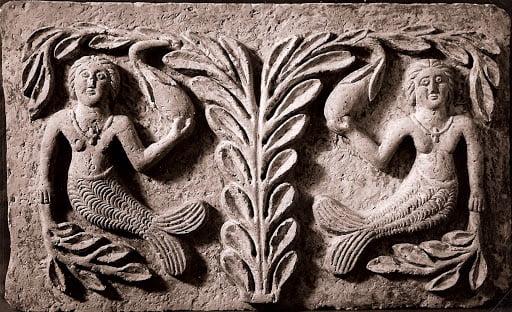 sculpture de sirène