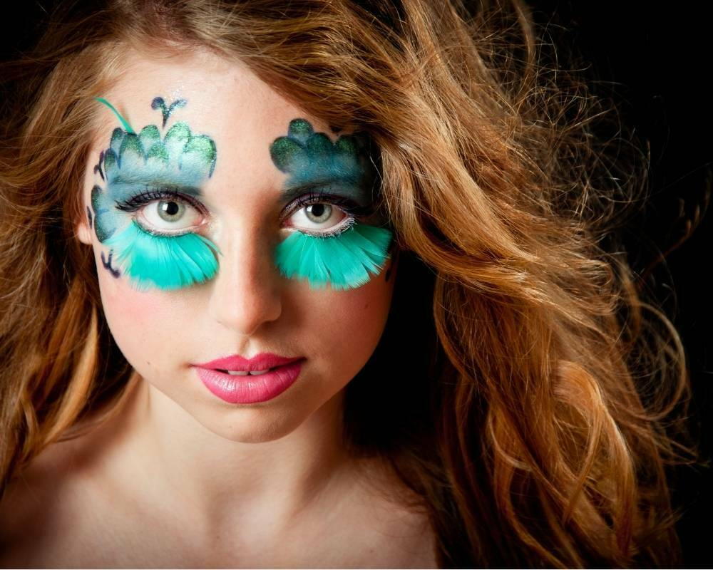 makeup aquatique