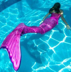queue de sirene amazon pour nager