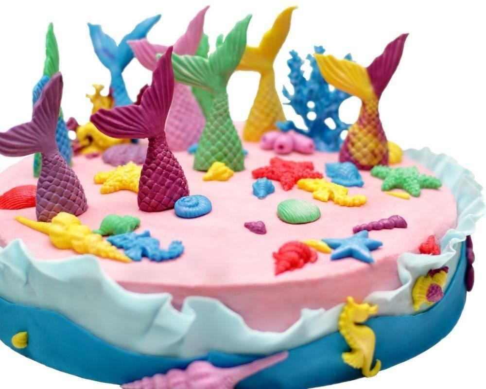 gateau anniversaire sirene facile