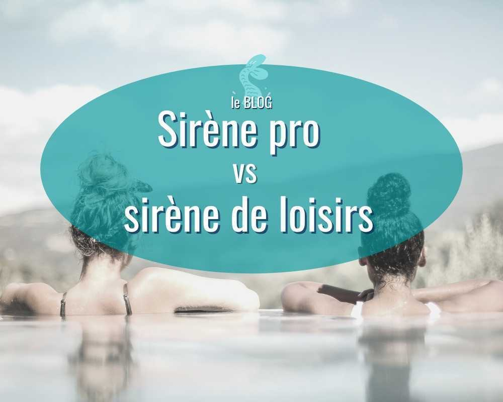 deux sirenes sirene professionnelle vs sirène de loisirs