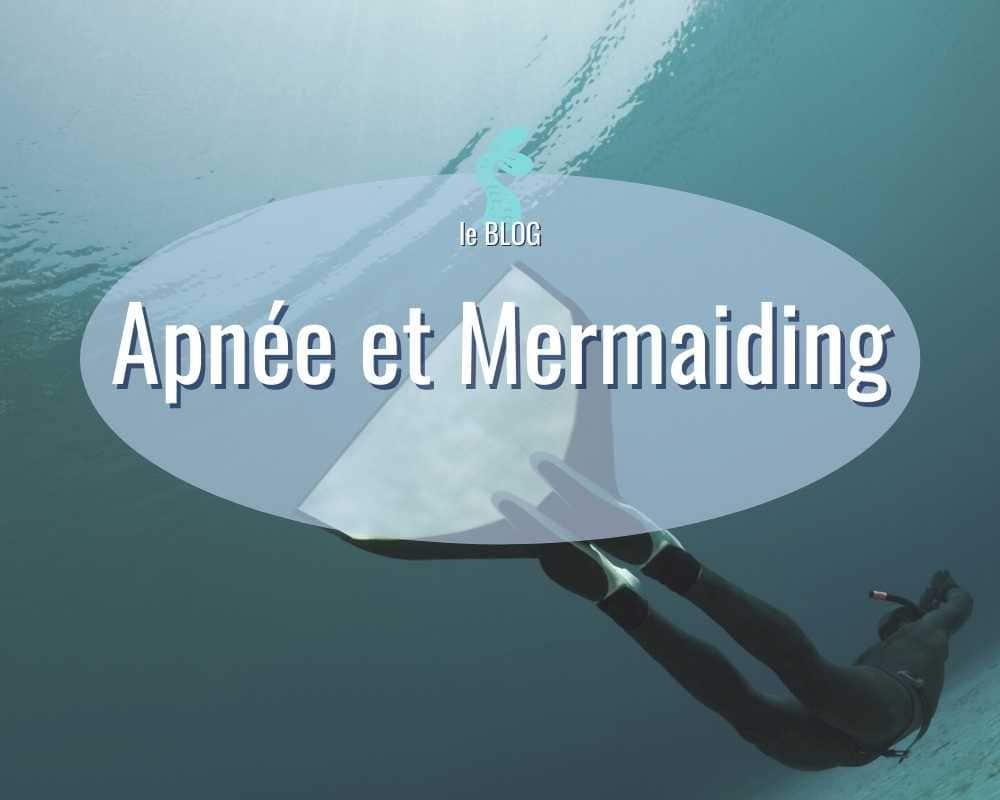 apnée et mermaiding